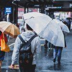 折り畳み傘専用のかさ袋で、濡れたまま鞄に入れられます